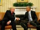 l'incontro tra Barack Obama e Donald Trump all'indomani delle elezioni presidenziali dello scorso novembre