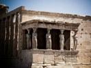 Acropoli di Atene, Il portichetto delle cariatidi nell'Eretteo - foto di ionasnicolae (pixabay.com/photo-515919 - CC0 1.0)