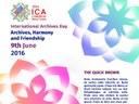 9 giugno - Giornata Internazionale degli Archivi