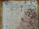 """Atto notarile custoditto presso l'Archivo Histórico Provincial de Cádiz (foto tratta dal sito della Conferenza """"Transforming Information: Record Keeping in the Early Modern World"""")"""