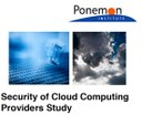"""""""Security of Cloud Computing Providers"""""""