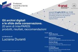Gli archivi digitali e le sfide della conservazione