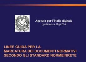 Pubblicate le Linee guida per la marcatura dei documenti normativi