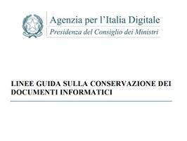 On line le linee guida sulla conservazione dei documenti informatici