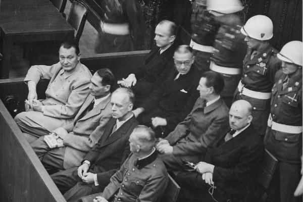 Il processo di Norimberga - foto via Wikipedia (pubblico dominio)