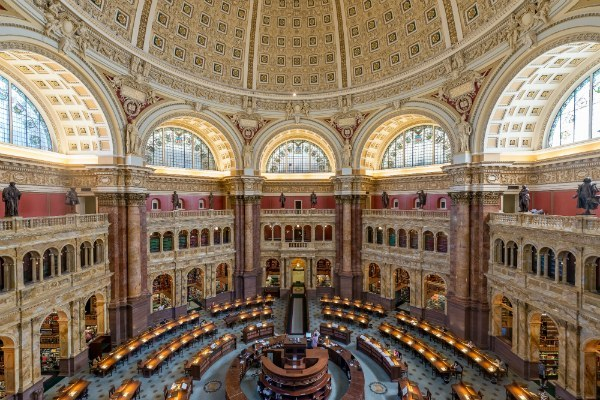Library Of Congress - Photo by Stephen Walker on Unsplash