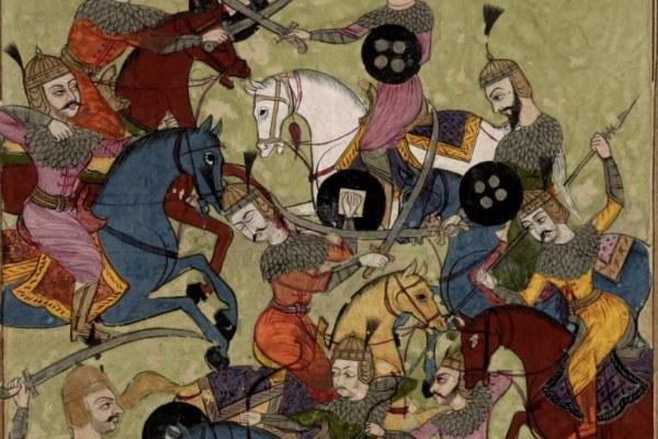illustrazione contenuta nell'esemplare indiano dello Shahnamah - Library Of Congress