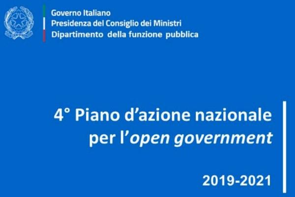 4° Piano d'Azione nazionale per l'open government 2019-2021
