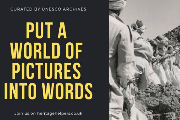 UNESCO: Put a World of Pictures into Words