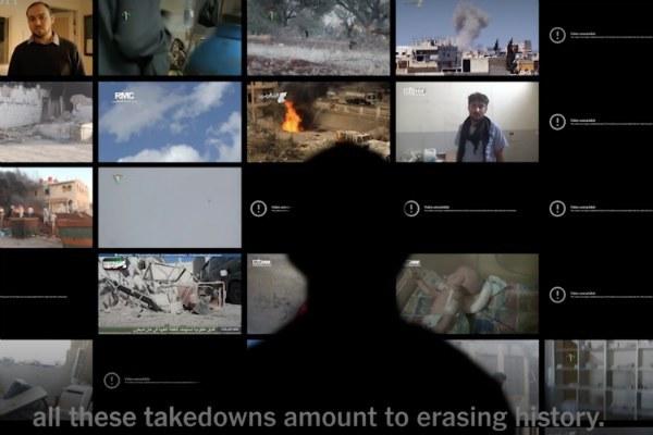 YouTube Is Erasing History,  By Hadi Al Khatib and Dia Kayyali - https://nyti.ms/2MCJbdY