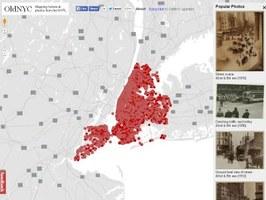 80.000 foto su mappa per raccontare la vecchia New York