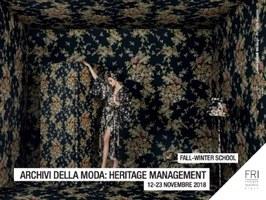 """A Bologna la terza edizione del corso """"Archivi Della Moda: Heritage Management"""""""