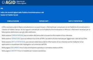 Nuova versione per il portale dell'Indice delle Pubbliche Amministrazioni