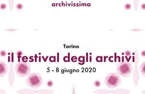 """""""Archivissima"""" e """"La notte degli archivi"""" si faranno in Digital Edition"""