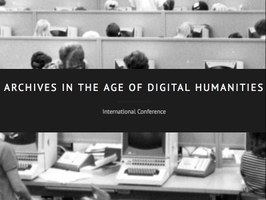 Call for Papers: Archives in the Age of Digital Humanities