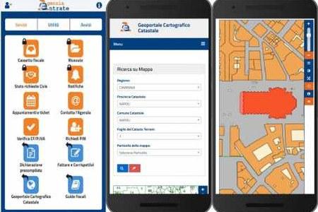 Geoportale cartografico catastale: la cartografia catastale a portata di App