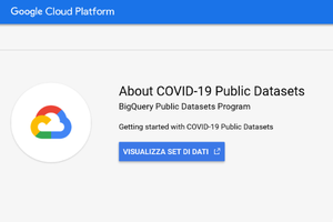 Google promuove la nascita di COVID-19 Public Dataset Program per supportare la ricerca sul coronavirus