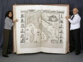 Mappe extralarge: digitalizzato il Klencke Atlas