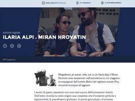 On line l'archivio Ilaria Alpi- Miran Hrovatin