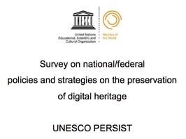 Online i risultati di un sondaggio internazionale sulle strategie di conservazione digitale