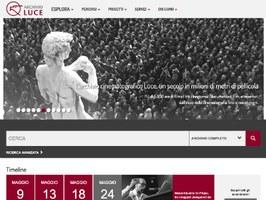 Online il nuovo portale dell'Archivio Storico Luce