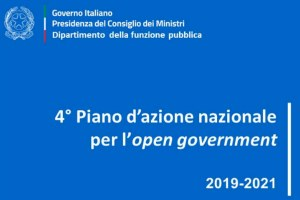 Open Government: online il 4° Piano d'azione