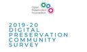 Pubblicati i risultati di un'indagine sulla conservazione digitale