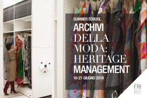 """Quarta edizione per il corso """"Archivi della moda"""""""