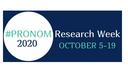 Si terrà dal 5 al 19 ottobre la PRONOM Research Week 2020