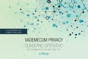 Vademecum privacy. Quaderno operativo 1/2019