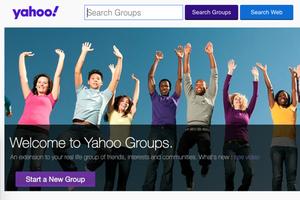 Yahoo Groups: fine delle trasmissioni